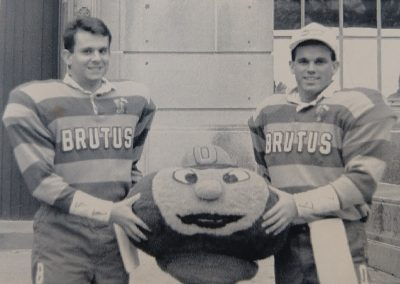 Brutus 1990-92: Bart Suver, left, Doug Congrove, right.